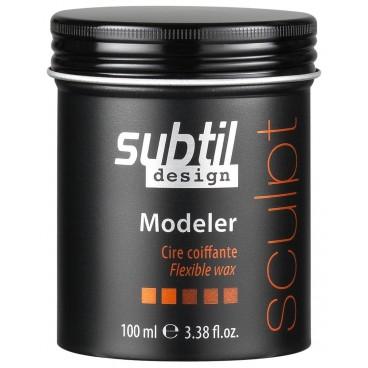 Cire Coiffante Modeler Subtil Design 100 ML