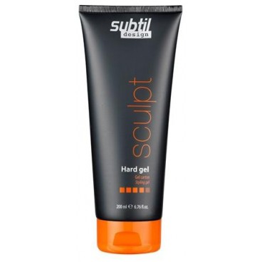 Gel Coiffant Hard Gel Subtil Design 200 ML
