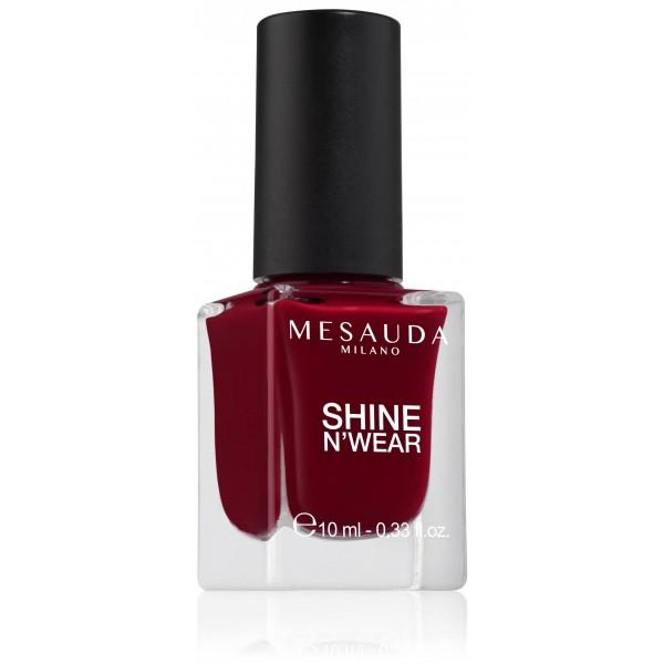 Esmalte De Uñas Brillo Duradero Laca Roja Shine Nwear Full 204 10ml