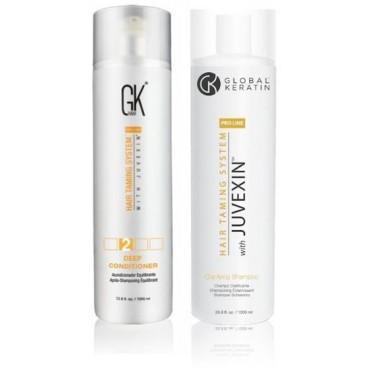Confezione Deep conditioner e clarifying shampoo - 945 ml