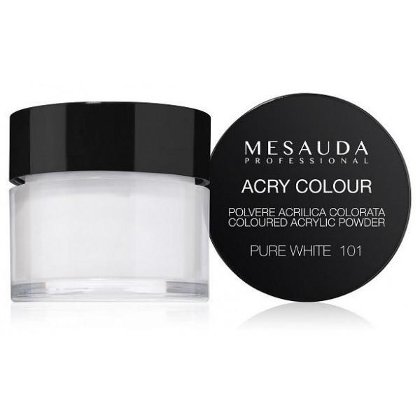 Polímero en polvo de color blanco puro ACRY-COLOR 101 5 g