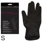 COCHE guantes de látex negro par 1 par S