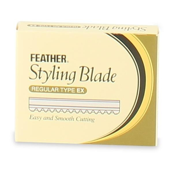 Confezione da 10 lame Feather Styling Blade
