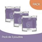 Pack 3 Poudres Décolorante sans ammoniaque Subtil Blond 450 Grs