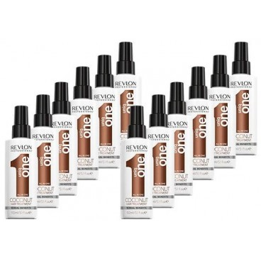 Pack 12 Sprays Uniq one revlon Coconut 150 ML