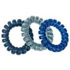Lot de 3 élastiques ressorts bleus Stella Green
