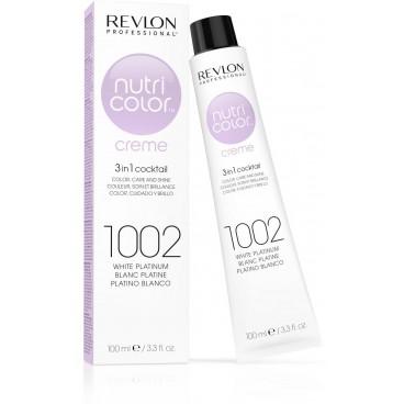 Tube Nutri color Crème Revlon 1002 Platine Blanc 100 ML