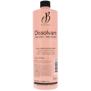 Solvent free Acetone liter Beautynails