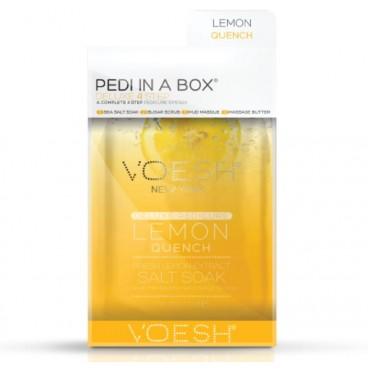 Image of Cura del piede Voesh - Pedi in Box Deluxe Lemon