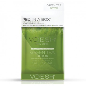 Image of Cura del piede Voesh - Pedi in Box Deluxe Green Tea