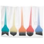 Lotto 5 spazzole coloratissime multiformi