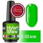 Mini Vernis Semi-Permanent Hybrid Shine Mollon Pro 8ml