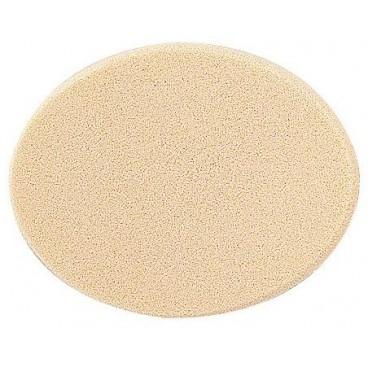 éponge ovale latex maquillage x 2