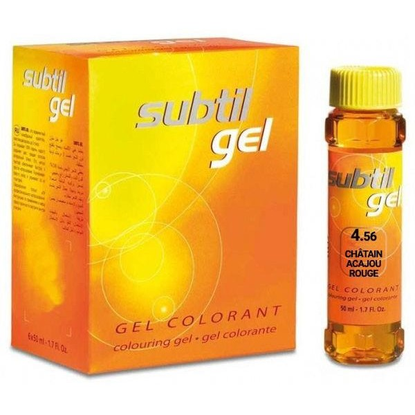 Subtil Gel N ° 4.56 Light Brown Mahogany Red 50ML