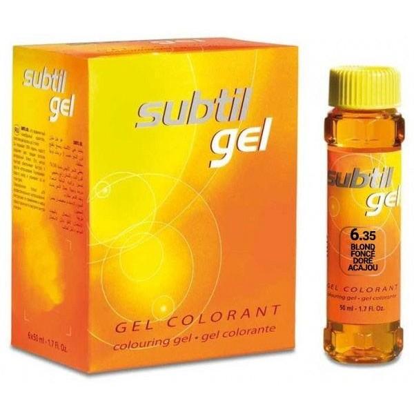 Subtile Gel Nr 6,35 Mahagoni Goldene Dunkelblond 50 ML