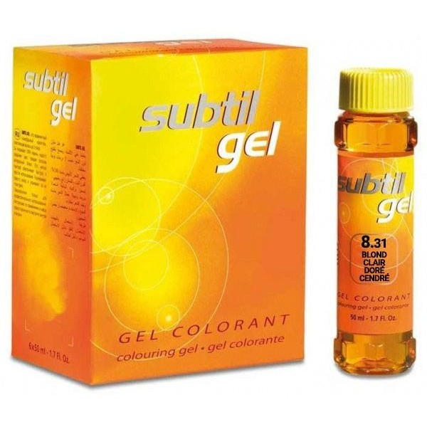 Subtil Gel N°8.31 Blond Clair Doré Cendré 50 ML
