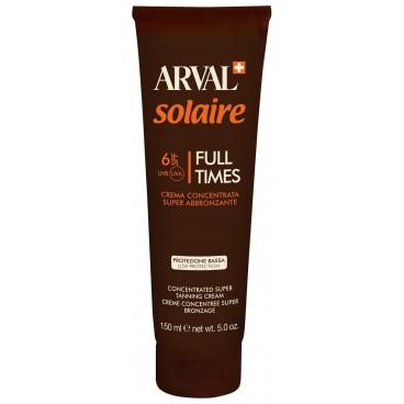 Image of Crema Concentrata Super Abbronzante Full Times SPF6 150ml Solare - Arval