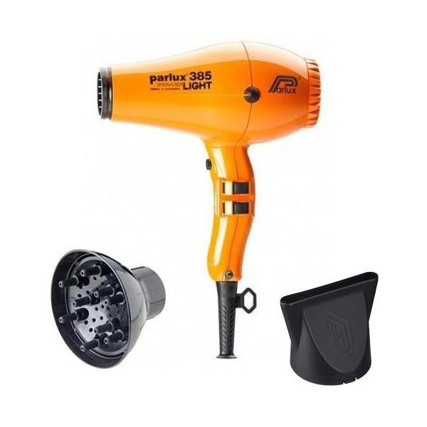 Pack hair dryer Parlux 385I Orange + Diffuser