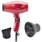 Pack hair dryer Parlux compact Ionic 3500 Red + Diffuser