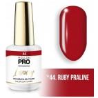 Vernis semi-permanent LUXURY N°44 Praline ruby Mollon Pro - 8ML