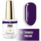 Vernis semi-permanent LUXURY N°57 Tiramisu praliné Mollon Pro - 8ML