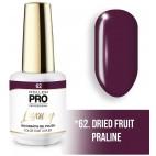 Vernis semi-permanent LUXURY N°62 Fruits secs pralinés Mollon Pro - 8ML
