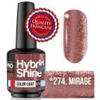 Mini Vernis Semi-Permanent Hybrid Shine Mollon Pro 8ML n°274 - Mirage