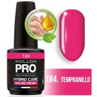 Vernis Semi-Permanent Hybrid Shine Mollon Pro 12ML Tempranillo - 184