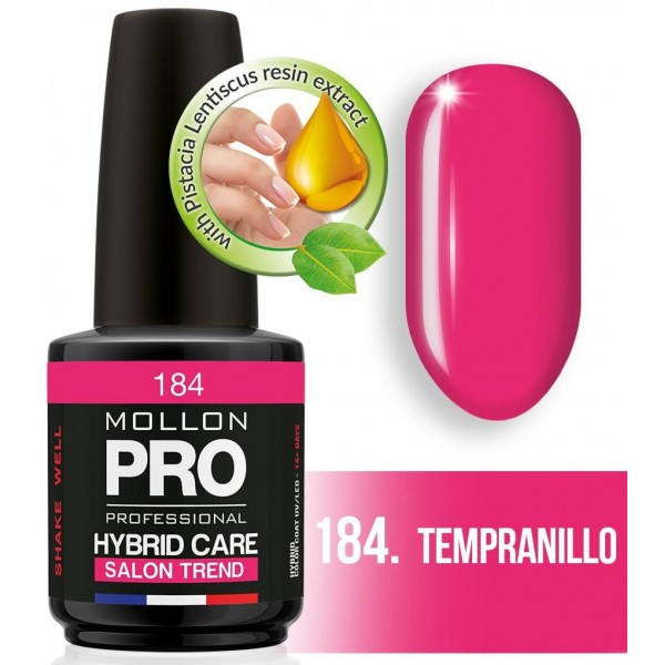 Semipermanenter Hybridglanz Mollon Pro 12ML Tempranillo - 184