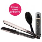 Lisseur ghd styler platinum+ ink on pink édition limitée + 1 brosse de coiffage ovale ghd + 1 spray thermoprotecteur OFFERTS