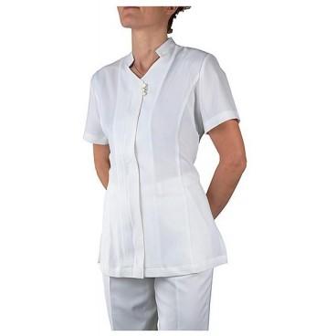 Blouse esthétique blanche Taille L