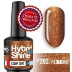 Mini vernice semi-permanente ibrida Shine Mollon Pro 8ml N ° 293