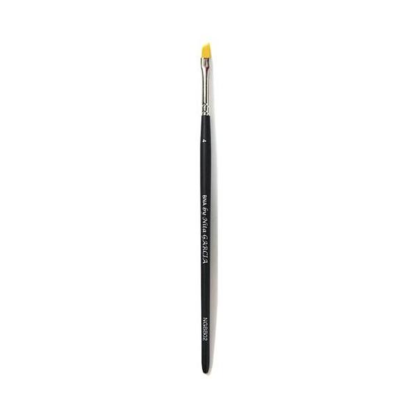 Cepillo de uñas de belleza biselado francés perfecto NGBB02-28