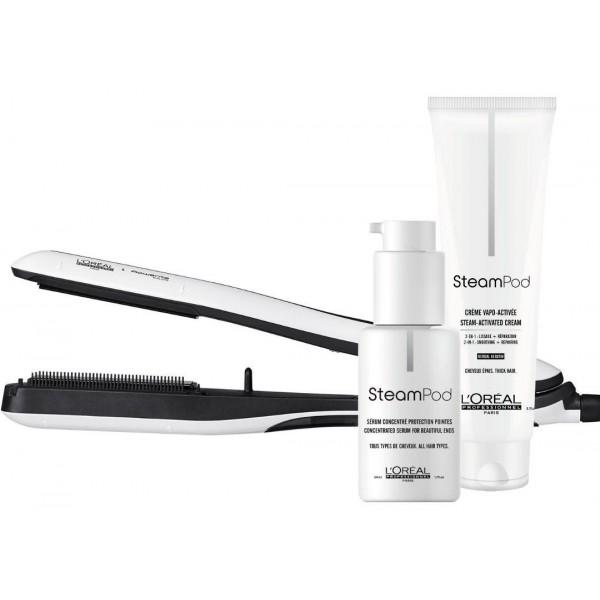 Pack Steampod 3.0 cheveux épais