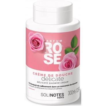 Image of Crème de douche Rose Solinotes 300ML