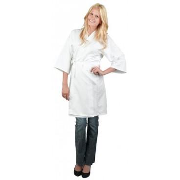Peignoir Kimono Blanc Taille S/M