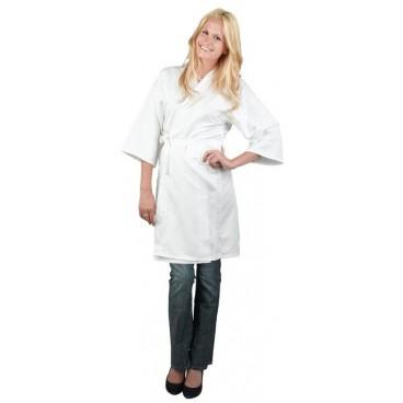 Peignoir Kimono Blanc Taille M/L