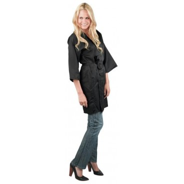 Peignoir Kimono Noir Taille S/M