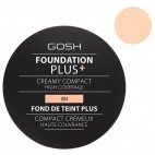 Fond de teint crème n°04 Natural - Foundation Plus + GOSH 30ML
