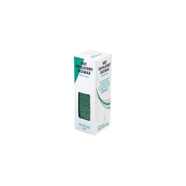 Cera depilatoria - Verde - Sotto forma di perle - 250 g