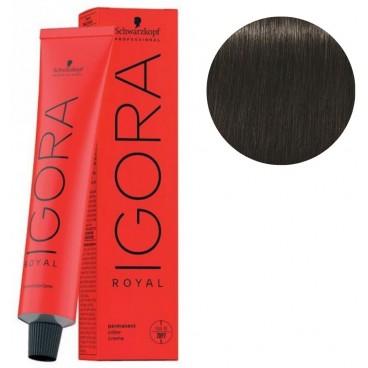Coloration Igora Royal 4-13 châtain cendré doré 60ML
