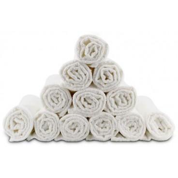 Asciugamani in spugna - Bob tuo bianchi x 12