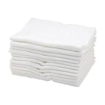 Serviettes Sibel Coton Blanches X 12 pièces