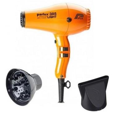 Parlux hair dryer Pack + 385I Orange Diffuser