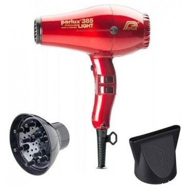 Parlux hair dryer Pack Red 385I + Diffuser