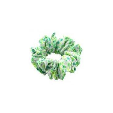 Mini chouchou enfant liberty vert pomme