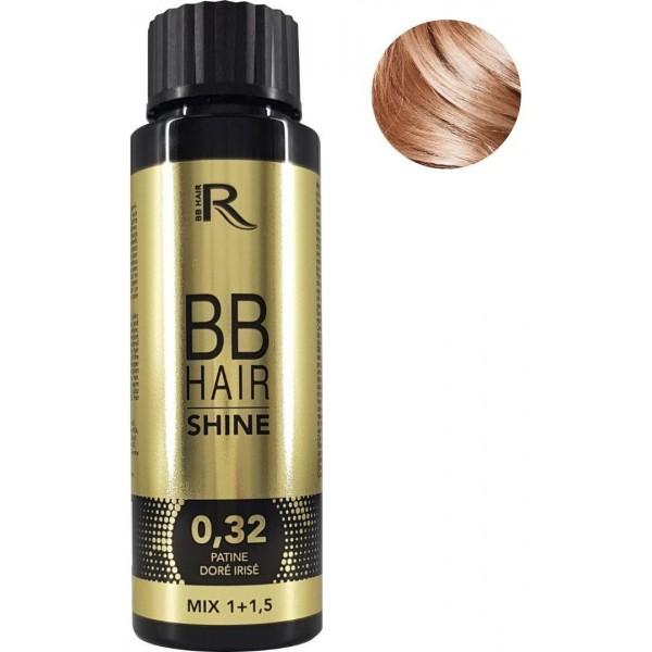 Patina ohne Ammoniak Golden Iridescent BBHair Shine GENERIK 60ML