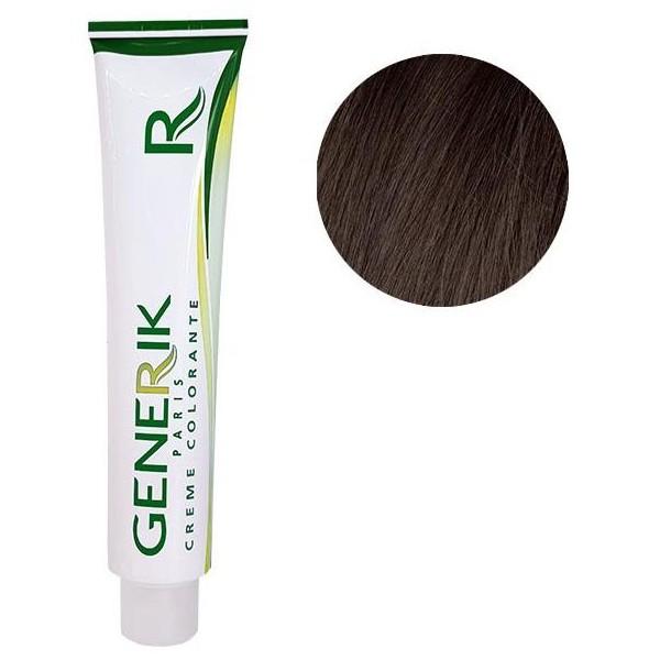 Générik color sin amoníaco Nº 4.15 ceniza caoba castaña 100 ML