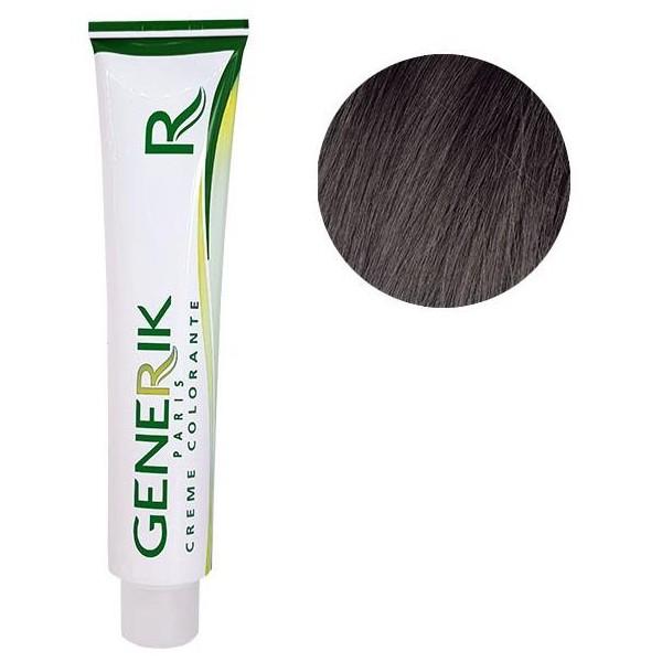 Générik Coloration sans amoniaque N°5.12 Chatain Clair Cendré Irisé 100 ML