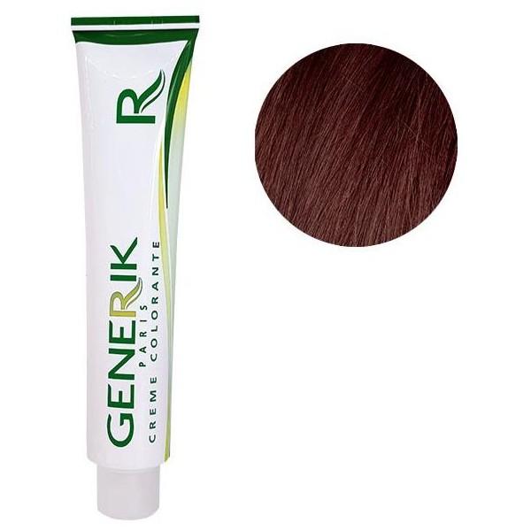 Générik color sin amoníaco Nº 5.5 caoba claro Castaño 100 ML